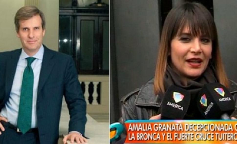Amalia Granata denunció y amenazó a Martín Redrado :