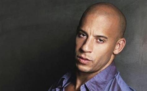 Semidesnudo, Vin Diesel puso a volar la imaginación de sus admiradoras