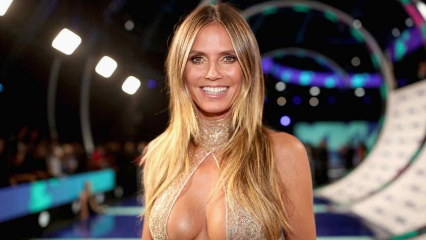 El Video De Heidi Klum Lavándose Los Dientes Desnuda Miralo