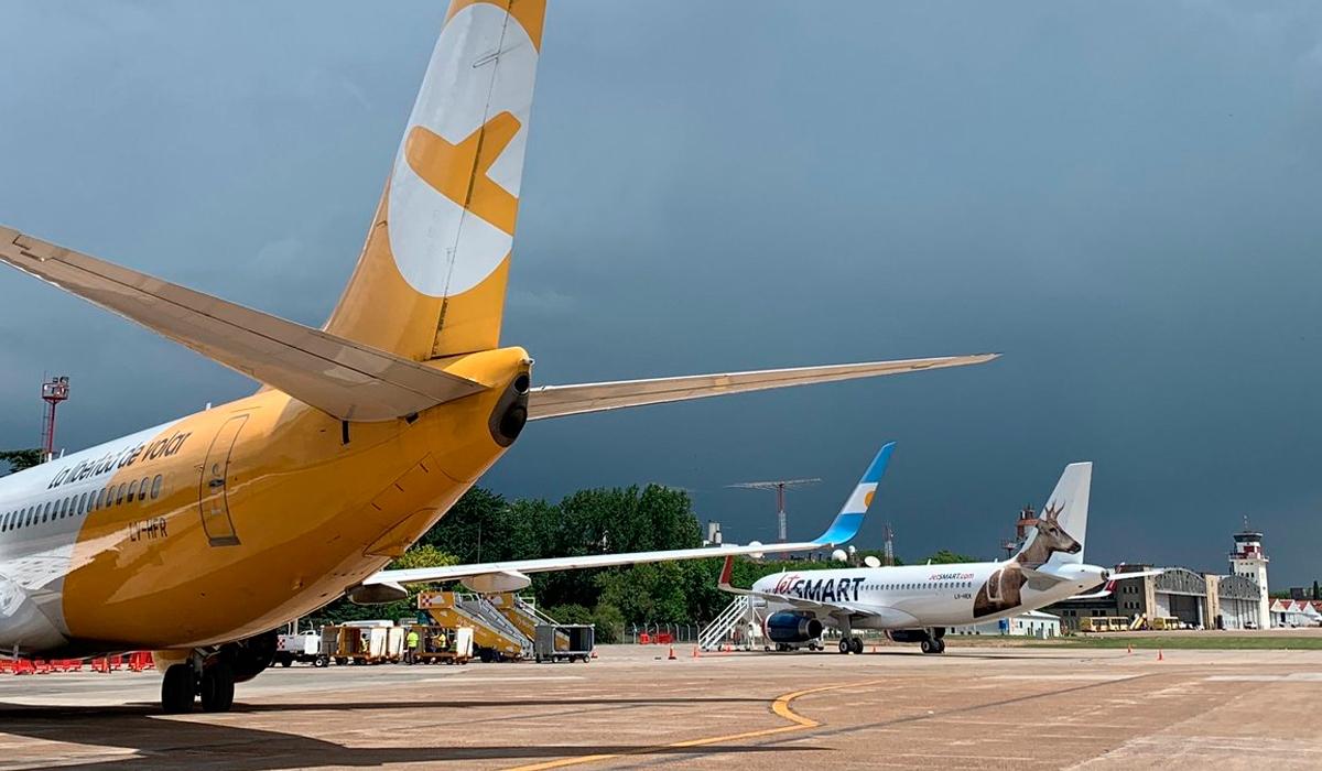 Resultado de imagen para El Palomar Airport flybondi jetsmart