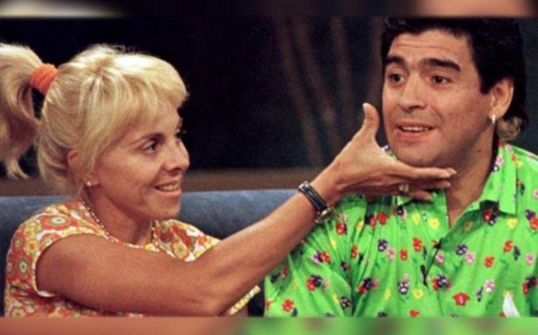 La emoción de Goyco al recordar a su amigo — Maradona