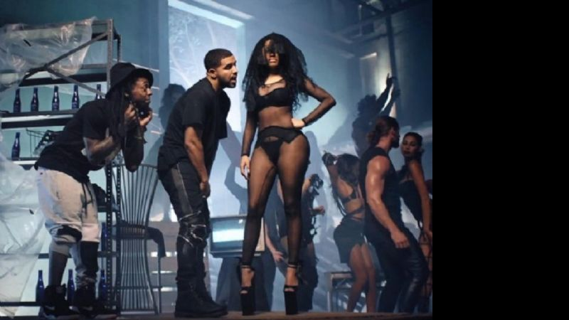 Nicki Minaj y un video muy subido, junto a Drake, Chris Brown y Lil Wayne