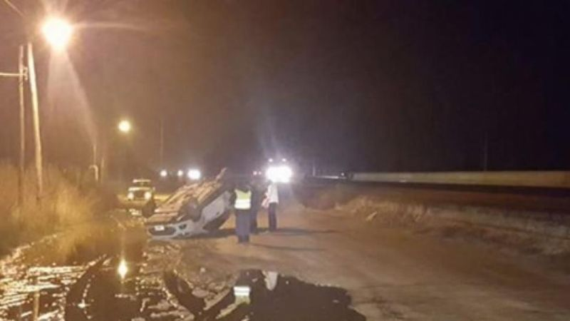 General Godoy : Otro accidente en la ruta 22