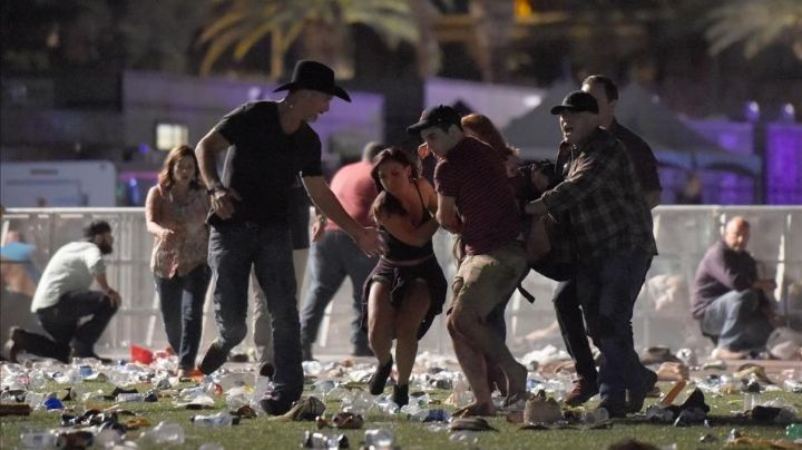 Se difundieron videos del horror en Las Vegas