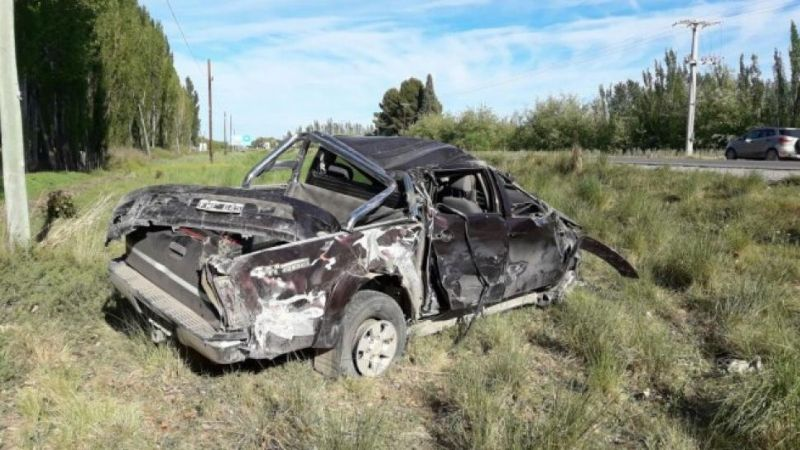 Accidente fatal en Ruta 22
