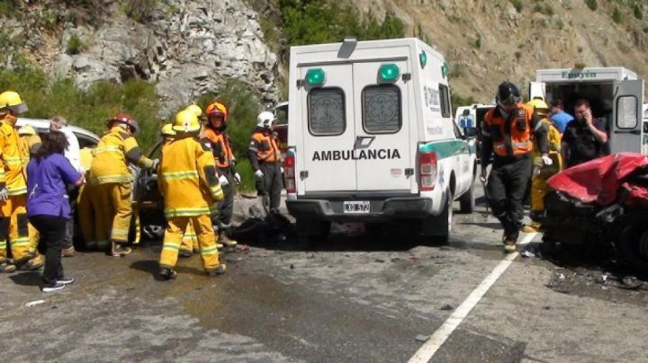 Accidente fatal sobre ruta 40