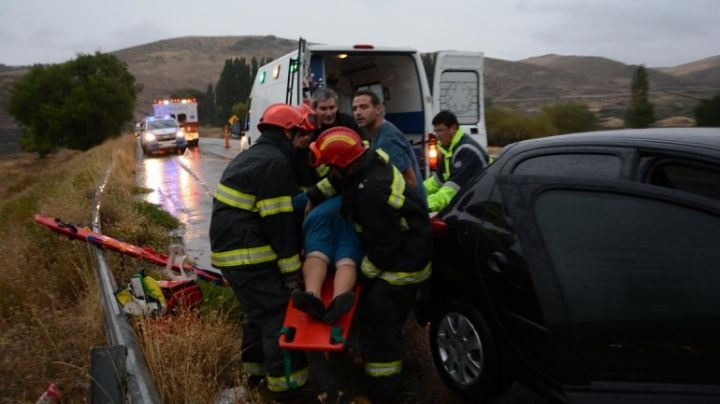 Grave accidente en La Rinconada