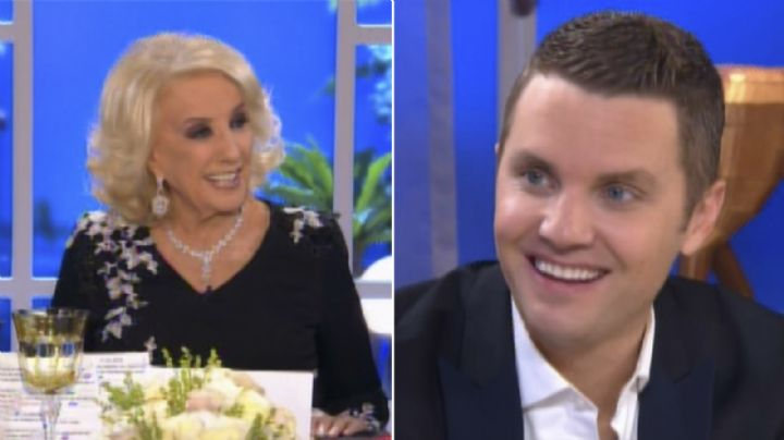 La pregunta animal de Santiago Del Moro a Mirtha Legrand. VIDEO