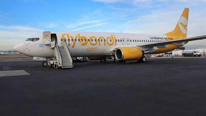 Denuncian grave incidente con un avión de Flybondi en Neuquén. VIDEO
