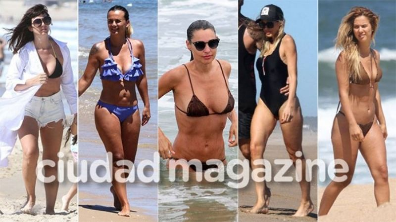 Todas las famosas sin Photoshop en Punta del Este. IMPERDIBLE