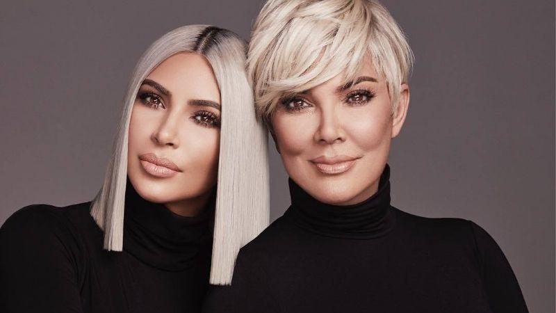 Kim Kardashian presentó a su madre y demostró a quién heredó su figura ¡Bomba!