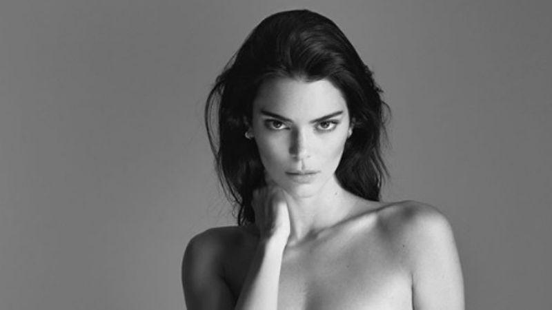Esta es la foto de Kendall Jenner que recorre el mundo y vuelve locos a todos ¡Mirá lo que enseña!