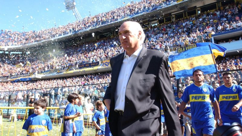 Carlos Bianchi regresa a Boca