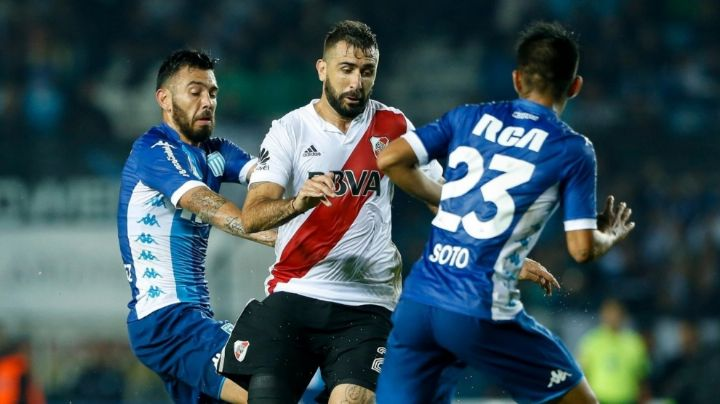 Racing recibe a River en el Cilindro