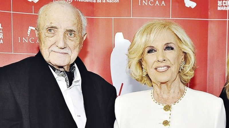 Triste noticia: falleció José Martínez Suárez, hermano de Mirtha Legrand