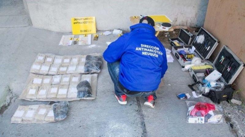 Narcotráfico: secuestran un cargamento de marihuana en Cipolletti
