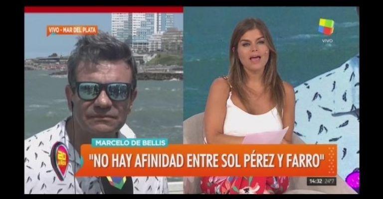 Sol Pérez aseguró que Mónica Farro le quiso pegar