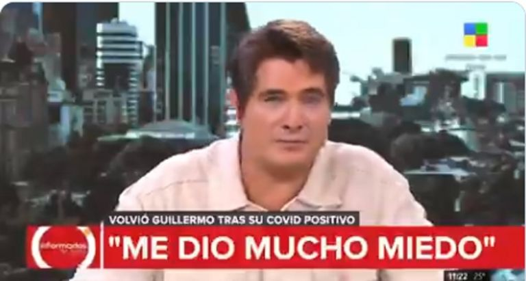El antecedente médico desconocido que le hizo temer lo peor a Guillermo Andino: