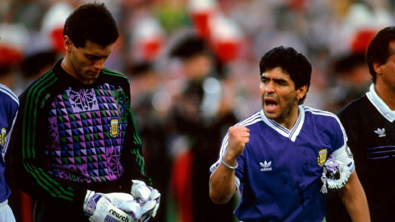 El desconsolado llanto de Sergio Goycochea por la muerte de Diego Maradona