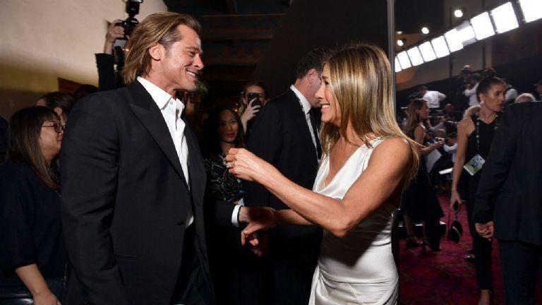 Graciela Alfano contó la historia de su encuentro con Brad Pitt