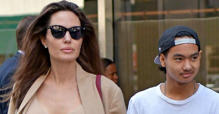 Maddox, hijo de Angelina Jolie, vuelve a casa por la cuarentena