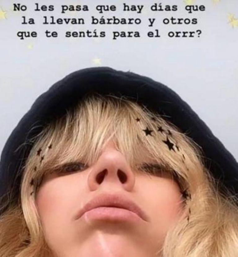 Tremendo bajón de Laurita Fernández en cuarentena: