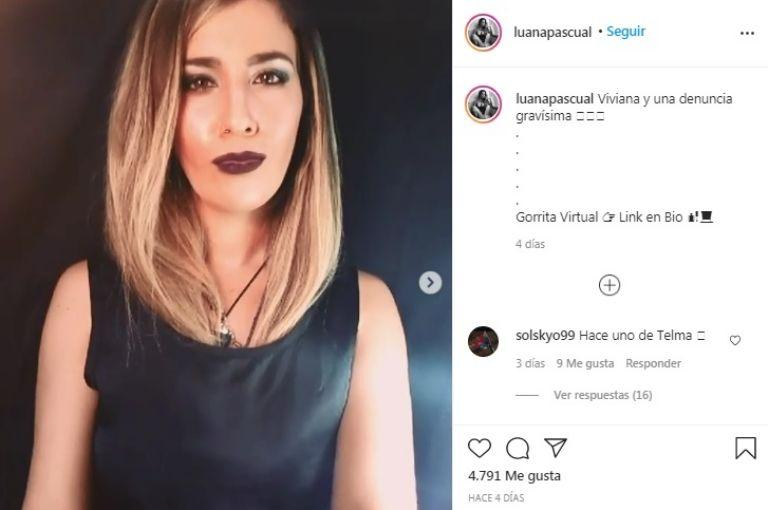 Viviana Canosa en guerra con una imitadora