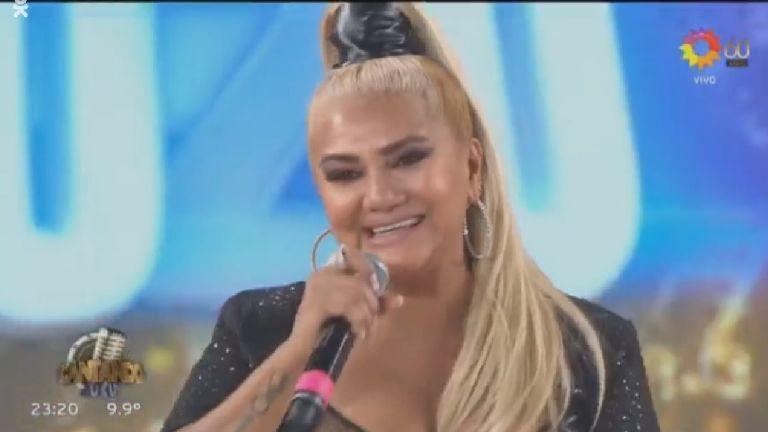 La reacción de Karina, La Princesita, cuando le dijeron que se veía 'muy chiquita' en el jurado del Cantando 2020: