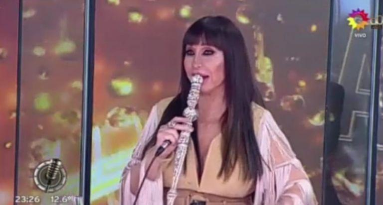 Adabel Guerrero se cayó en la pista del Cantando 2020