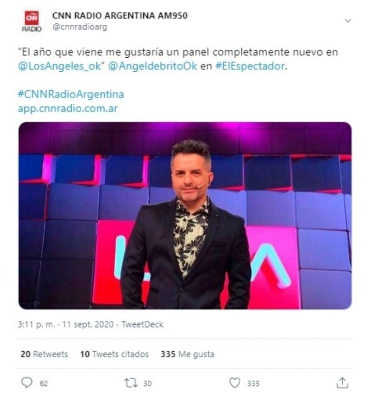¡Tensión en Canal Trece!: ¿Ángel de Brito echa a Yanina Latorre de LAM? ¡Él mismo lo contó!