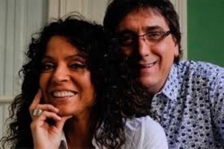 El pícaro cruce entre Laurita Fernández y Oscar Mediavilla